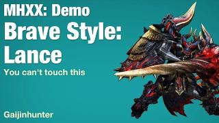 MHXX Demo: Brave Lance