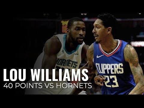 Lou Williams Highlights - Charlotte Hornets vs Los Angeles Clippers - December 31st 2017 12-31-17