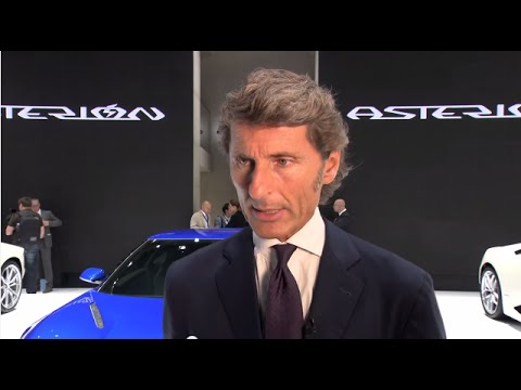 Stephan Winkelmann on Lamborghini Asterion LPI 910-4