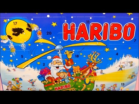 Haribo Advent Calendar with Candy - 2017 Edition