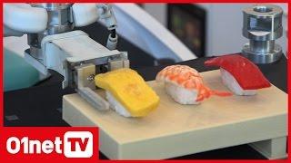 Le robot qui fait des sushis et des pizzas