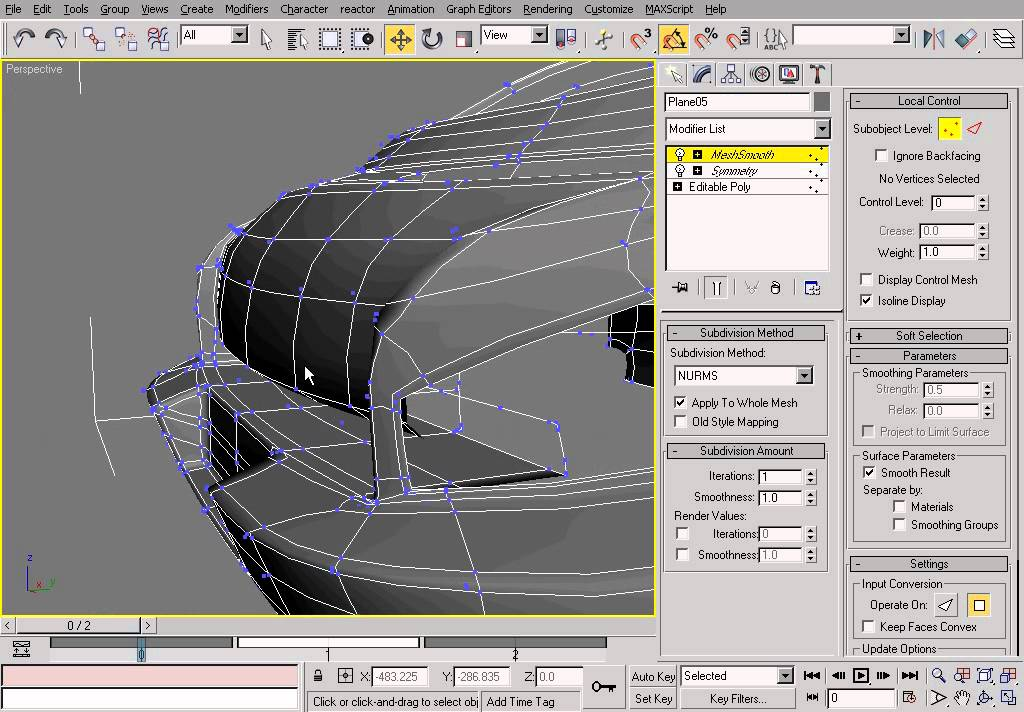 how to add vertex in 3ds max