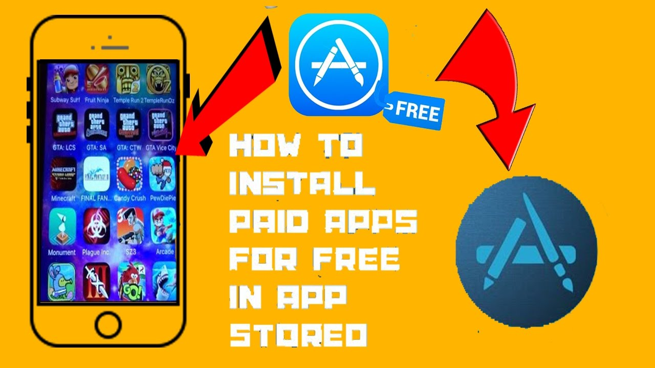 Download All Paid App Store Games Apps For Free On Ios