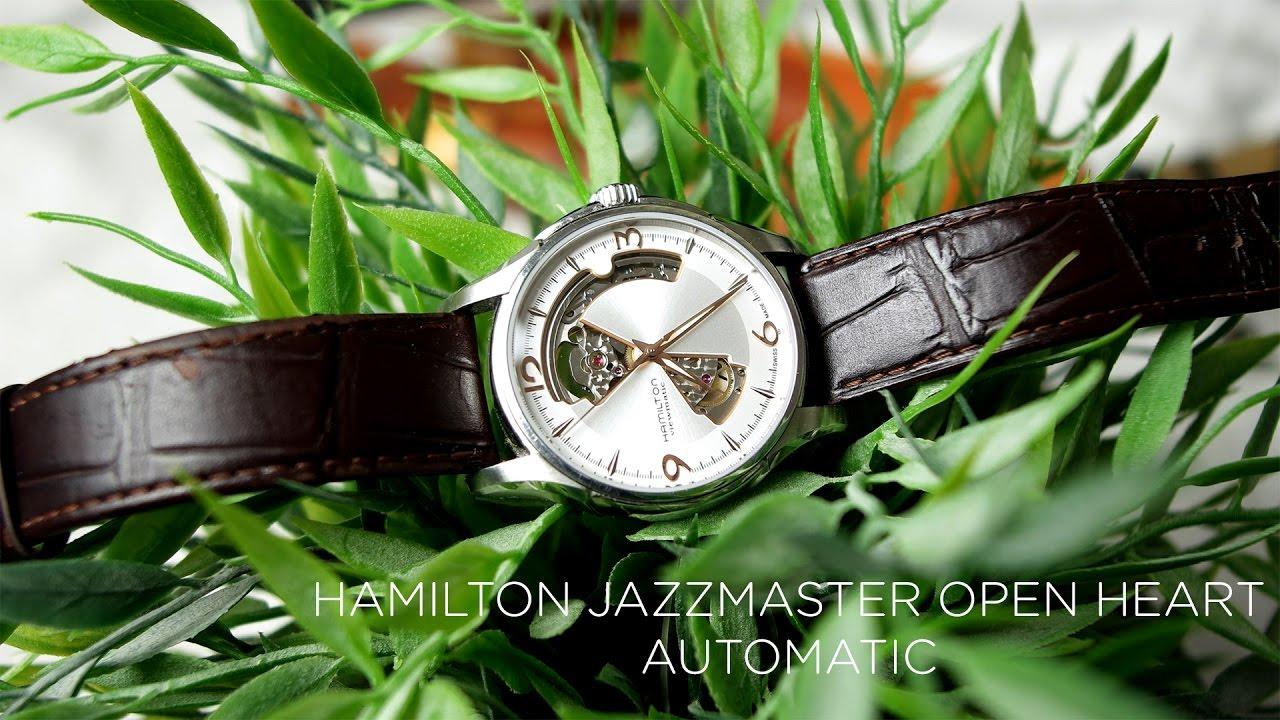 style de la mode de 2019 belles chaussures style populaire Notre avis sur la montre Hamilton JazzMaster Open Heart Auto ...