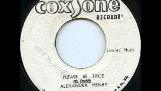 ReGGae Music 504 - Alexander Henry - Please Be True [Coxsone]