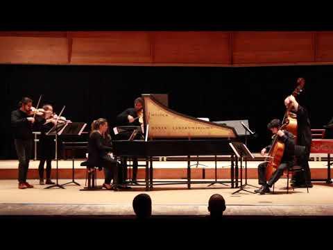 J. S. Bach - Harpsichord concerto F minor BWV 1056 Largo - Presto