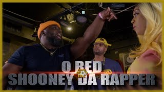 O RED VS SHOONEY DA RAPPER RAP BATTLE - RBE