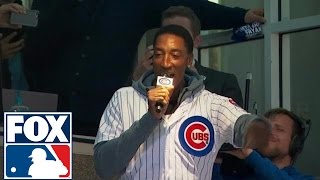 Scottie Pippen has trouble with 'Take Me Out to the Ball Game' at Wrigley Field by : FOX Sports