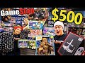 THE $500 GAMESTOP CHRISTMAS CHALLENGE!!