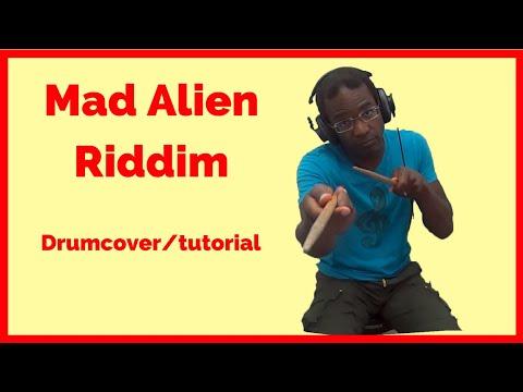 Lil Rick - True Story (Mad Alien Riddim) | Drum Instruction/Drumcover
