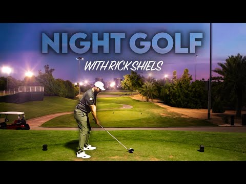 NIGHT GOLF! Part 1 - Abu Dhabi Golf Club - Garden Course