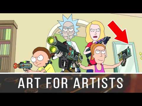 The Humour of Rick and Morty - Art For Artists Podcast