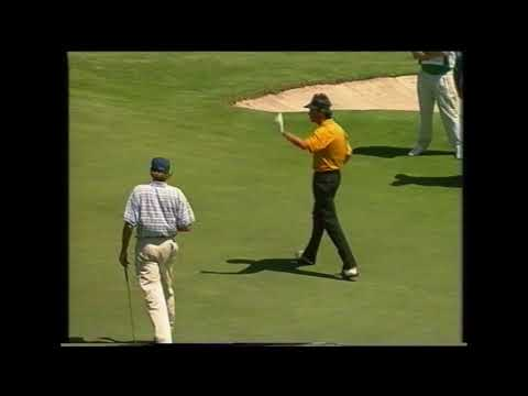 1993 Australian Open Golf won by Brad Faxon |  7 Sport | Metropolitan Golf Club