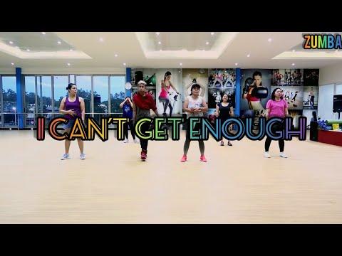 benny blanco Tainy Selena Gomez J Balvin - I Cant Get Enough Choreography ZUMBA  Balikpapan