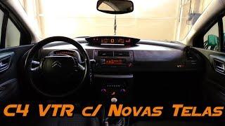 C4 VTR com Novas Telas, com Película Invertida