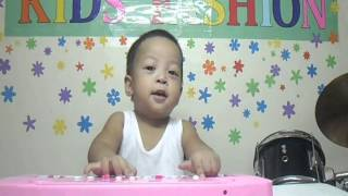 Fashion-Keyboard and Drumming 1 Year Old Baby Thumbnail
