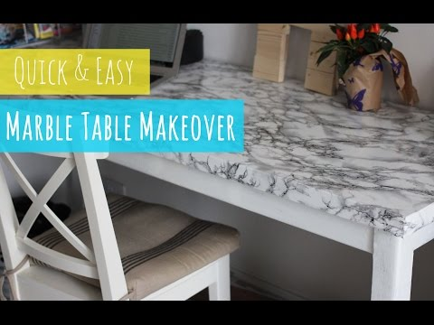 diy-marble-table,-quick-and-easy-table-makeover