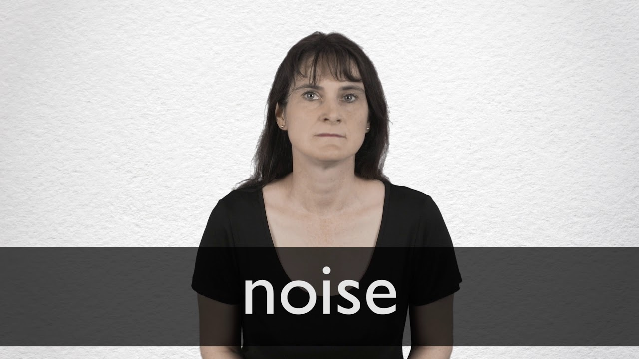 How to pronounce NOISE in British English