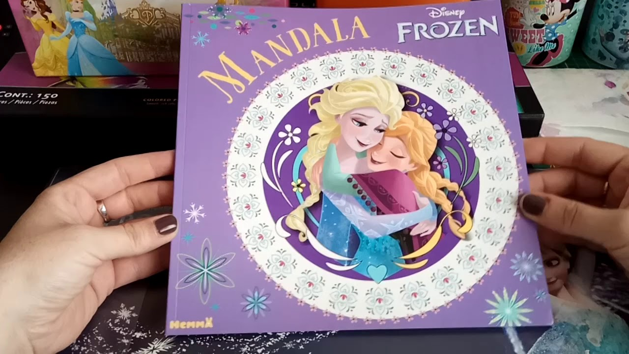 71 Frozen Elsa Mandala Coloring Book Free