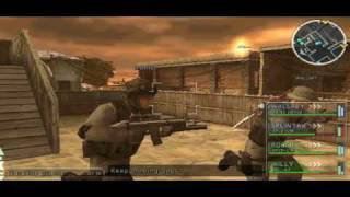 SOCOM U S Navy SEALs Tactical Strike walkthrough mission 2