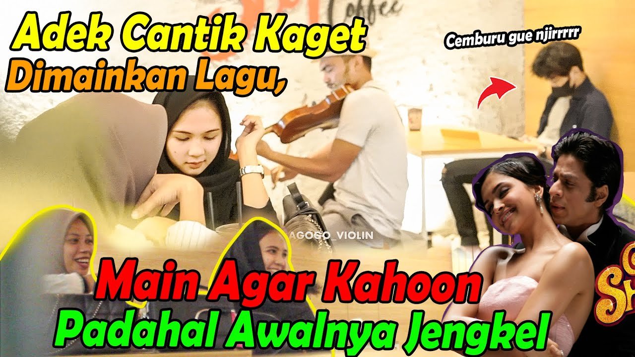 Adek Cantik Kaget, Dimainkan Lagu, Main Agar Kahoon, Padahal Awalnya Jengkel Banget.