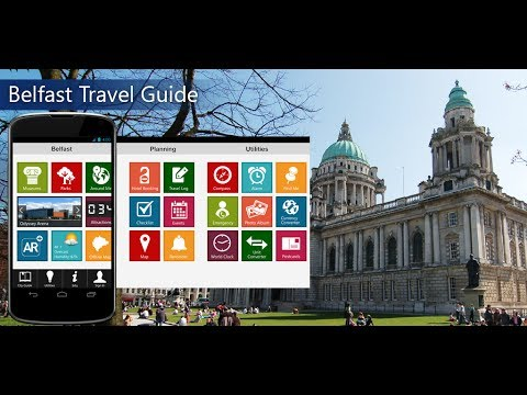 Belfast Travel Android App Promo - Pangea Guides