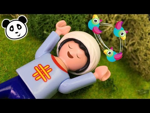 Playmobil Krankenhaus - Sascha fällt ohnmächtig vom Baum - Playmobil Film