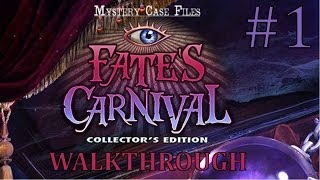 Mystery Case Files: Fate's Carnival Walkthrough part 1
