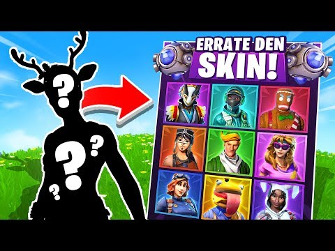 *NEU* ERRATE DEN SKIN in Fortnite Battle Royale !