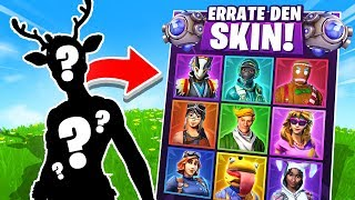 *NEW* ERRATE THE SKIN in Fortnite Battle Royale !