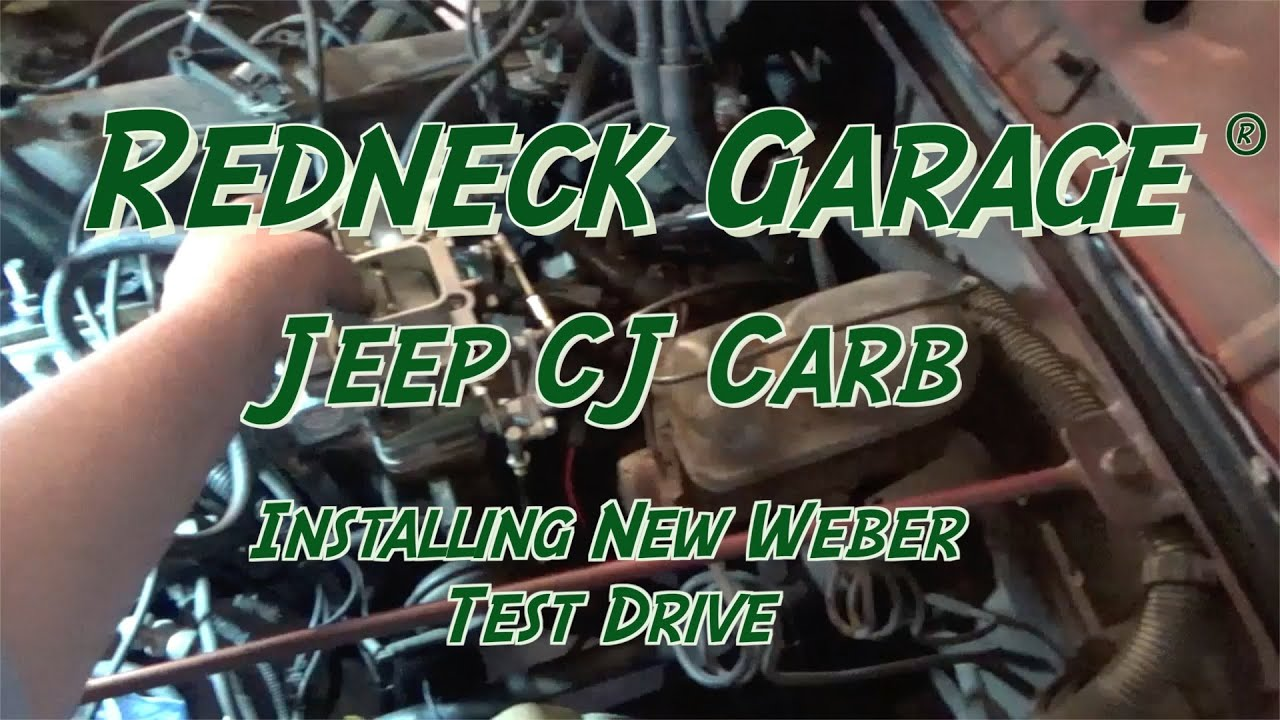 Jeep Cj Carter Bbd Carb Swap To Weber 32 36 Yj Upgrade 1981 Cj5 4 Cyl Wiring Diagram