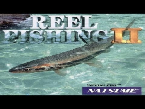 Classic PS1 Game Reel Fishing II On PS3 In HD 720p