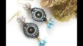 How-To Jewelry Making Video: Unicorn At Dusk Earrings