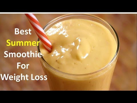 Best Summer Smoothie For Weight Loss|Mango And Banana Smoothie|Rj Payal's Kitchen