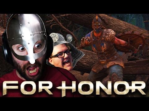 KILL THEM ALL, BAHAHAHAHA!!!   For Honor Multiplayer Co-Op Part 2