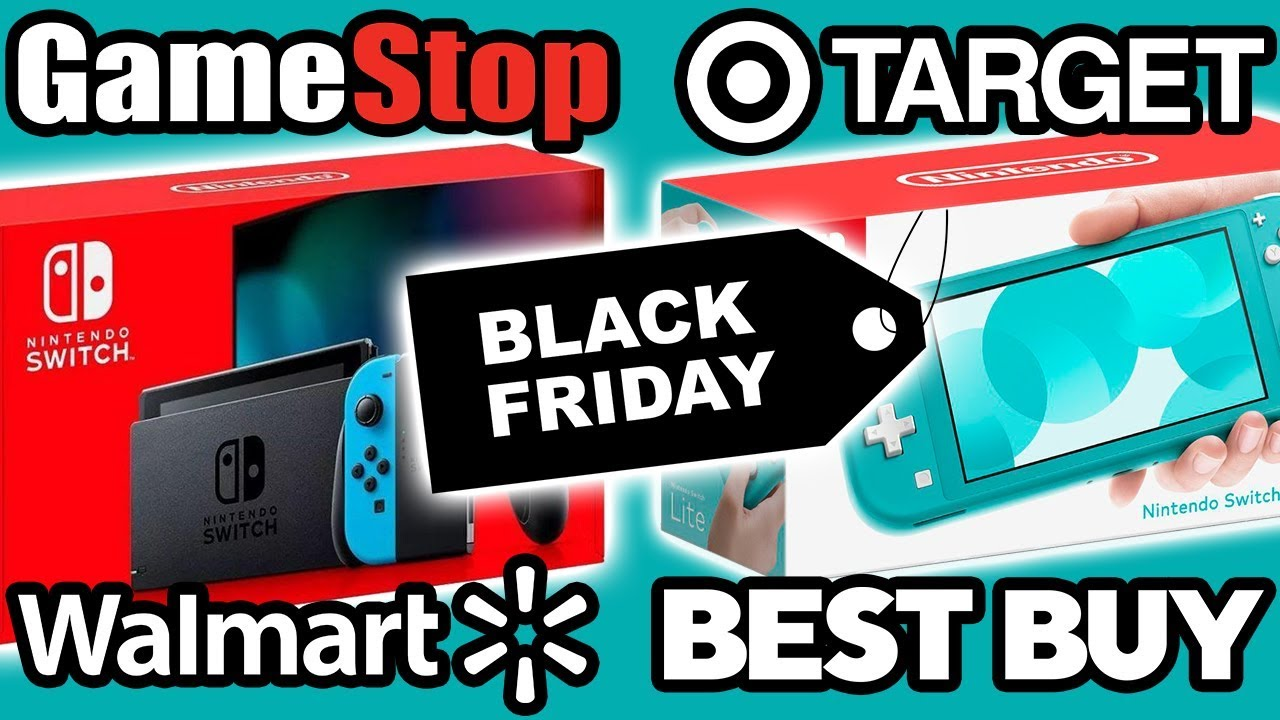 All Best Nintendo Switch Black Friday 2019 Deals Youtube
