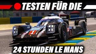 Testen für den 24 Stunden Stream | 24h Le Mans (LMP1) | Assetto Corsa Deutsch | Gameplay German