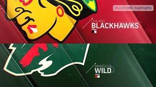 Chicago Blackhawks vs Minnesota Wild Oct 11, 2018 HIGHLIGHTS HD
