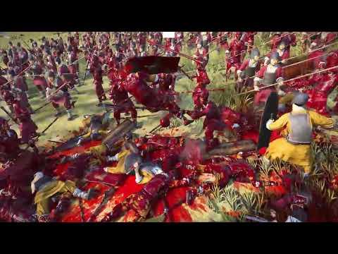 Totalwar - Three Kingdoms - no mercy battle |