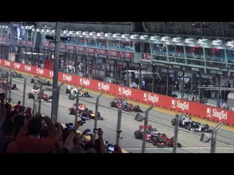 F1 Singapore GP 2012 Start