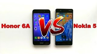 Honor 6A vs. Nokia 5 AnTuTu Benchmark