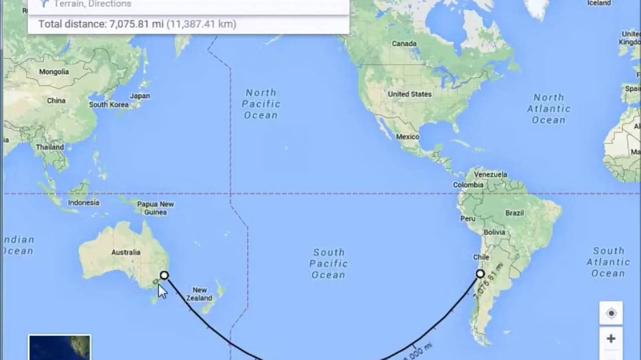 Flat earth, why air flights are not straight lines in map - YouTube