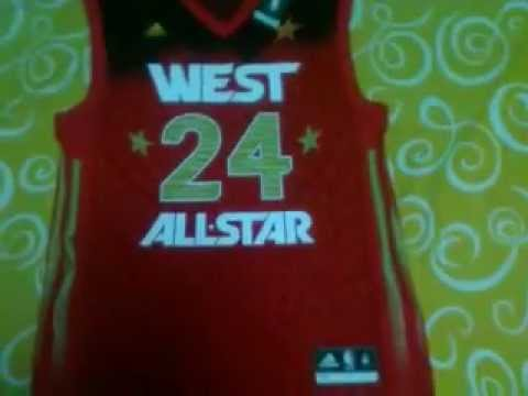 pretty nice cbd9c 7b3bb Adidas NBA All-Star 2012 Kobe Bryant Western Conferene Replica Jersey