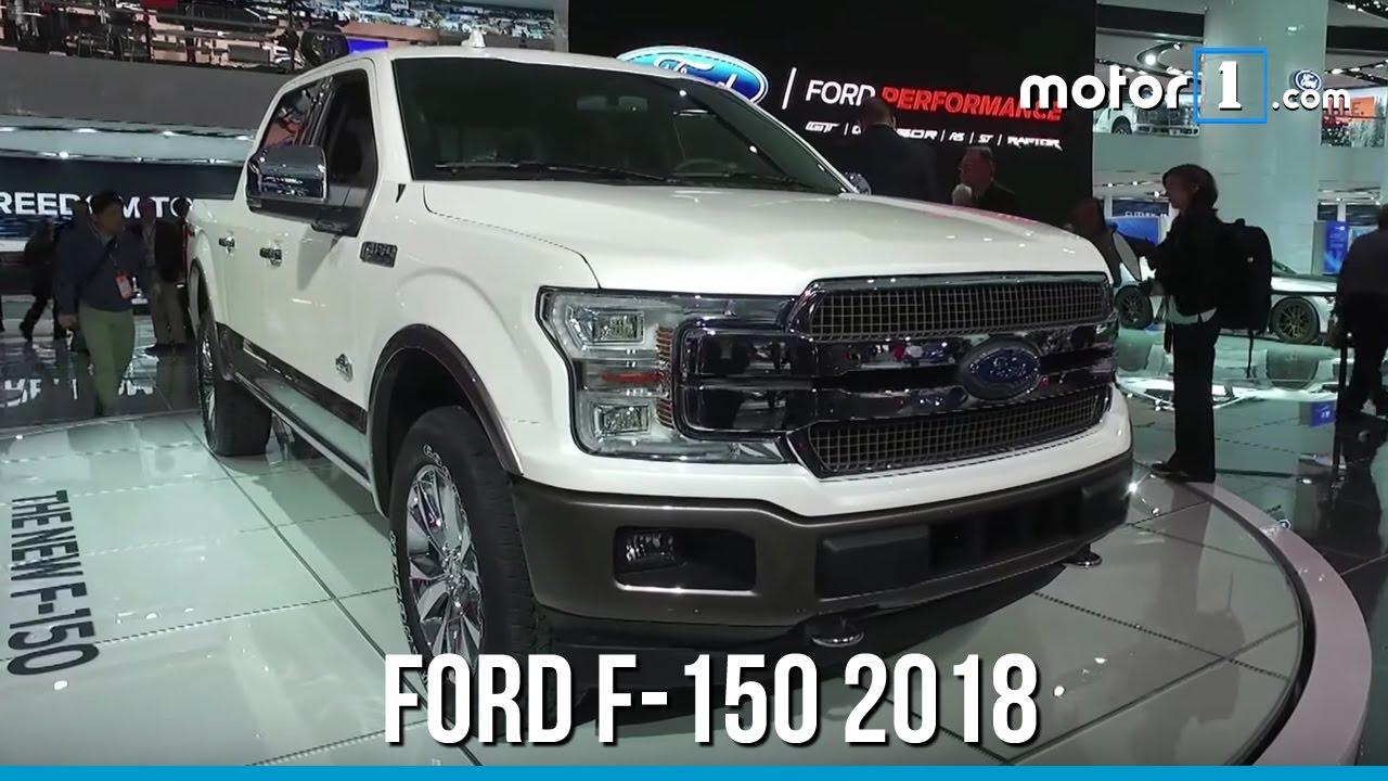 Salão de Detroit - Ford F-150 2018, a picape mais vendida dos EUA - YouTube