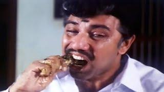 வயிறு குலுங்க சிரிக்க இந்த வீடியோவை பாருங்கள் || Sathyaraj Food Eating காமெடி கலாட்டா