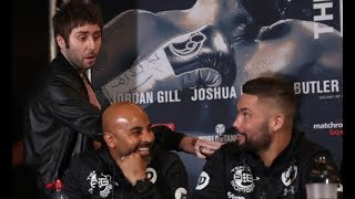 BEEF! - 'PICK ON SOMEONE YOUR OWN SIZE!' - JAY FROM INBETWEENERS OFFERS OUT TONY BELLEW IN PRESSER!