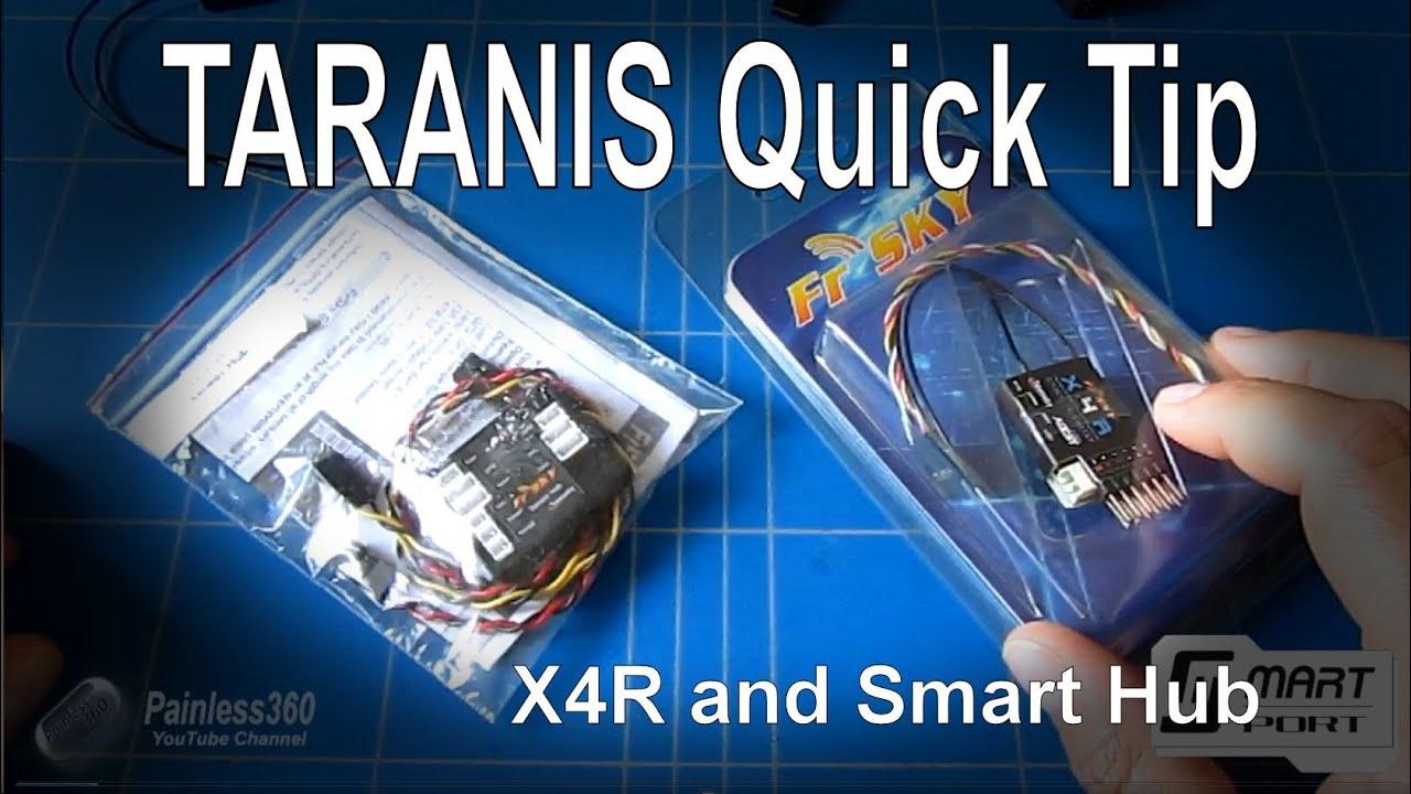 Taranis Quick Tip X4r Receiver S Bus And Smart Port Sensor Naze32 Wiring Diagram Hub From Banggoodcom