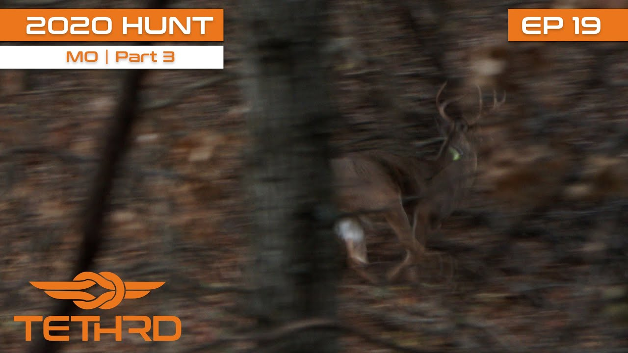 2020 Tethrd Hunt Tour -Missouri Public Land With Clint Campbell PT3-