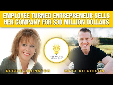 Employee Turned Entrepreneur Sells Her Company for $30 Million Dollars