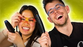 People Use A 3D Pen For The First Time